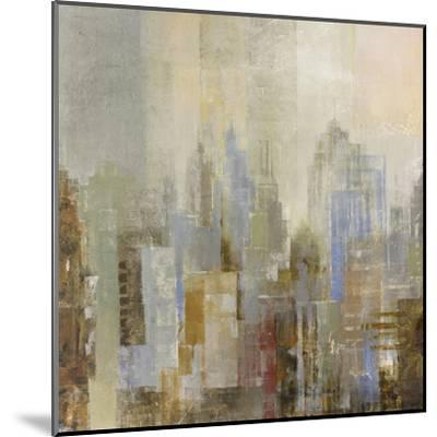 Midtown View I-Longo-Mounted Art Print