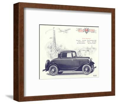 1932 Ford Deluxe Coupe--Framed Art Print