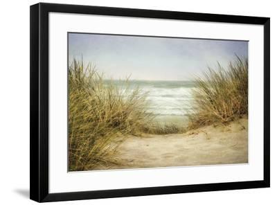 Sea Grasses 1-Dianne Poinski-Framed Art Print