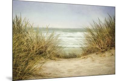 Sea Grasses 1-Dianne Poinski-Mounted Art Print