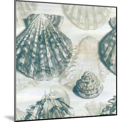 Shell Engraving 2-John Butler-Mounted Art Print