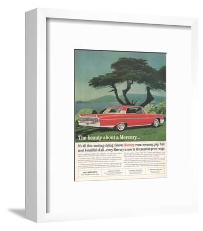 1961 the Beauty About Mercury--Framed Art Print