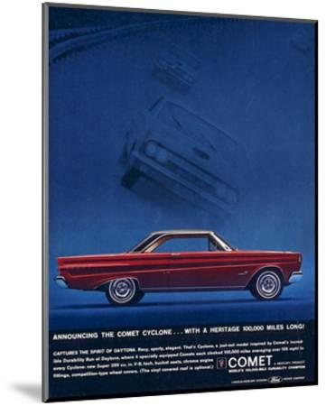 1964 Mercury - Comet Cyclone--Mounted Premium Giclee Print