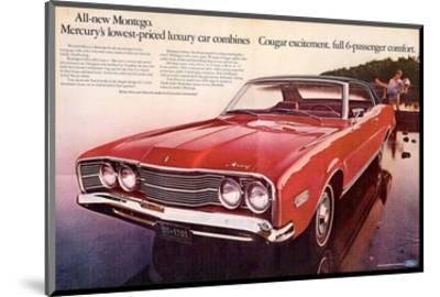 1968 Mercury - Cougar Montego--Mounted Art Print
