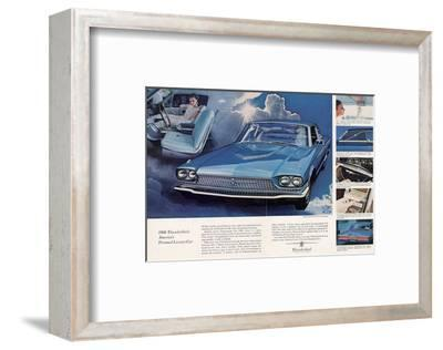 1966 Thunderbird Pers. Luxury--Framed Art Print