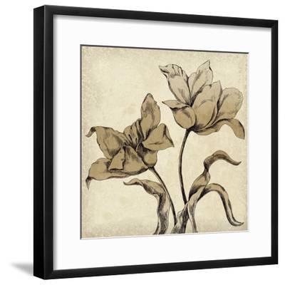Paper Tulip I-Maria Mendez-Framed Giclee Print