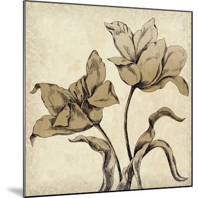 Paper Tulip I-Maria Mendez-Mounted Giclee Print