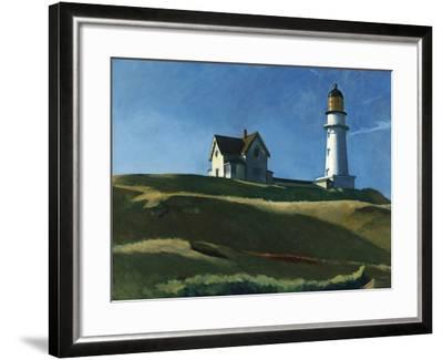 Lighthouse Hill, 1927-Edward Hopper-Framed Giclee Print