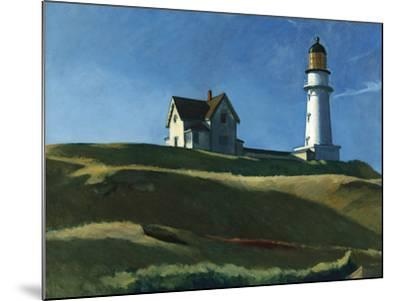Lighthouse Hill, 1927-Edward Hopper-Mounted Giclee Print