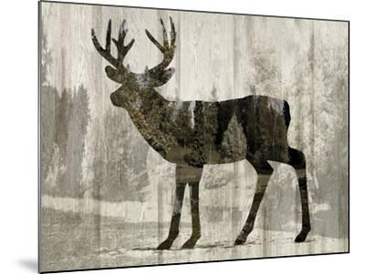 Camouflage Animals - Deer-Tania Bello-Mounted Giclee Print