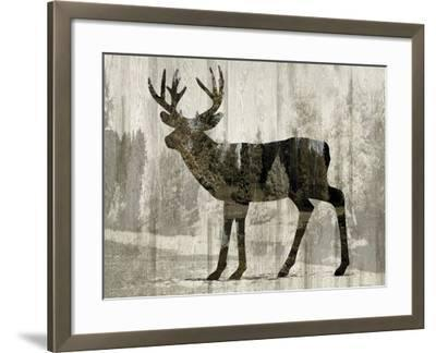 Camouflage Animals - Deer-Tania Bello-Framed Giclee Print