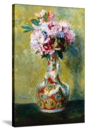 Bouquet in a Vase-Pierre-Auguste Renoir-Stretched Canvas Print
