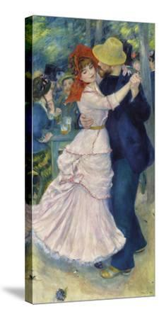 Dance at Bougival, 1883-Pierre-Auguste Renoir-Stretched Canvas Print