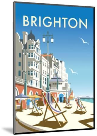 Brighton - Dave Thompson Contemporary Travel Print-Dave Thompson-Mounted Art Print