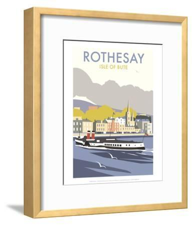 Rothesay, Isle of Skye - Dave Thompson Contemporary Travel Print-Dave Thompson-Framed Art Print