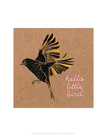 Little Birdie 2-Abigail Gartland-Framed Art Print