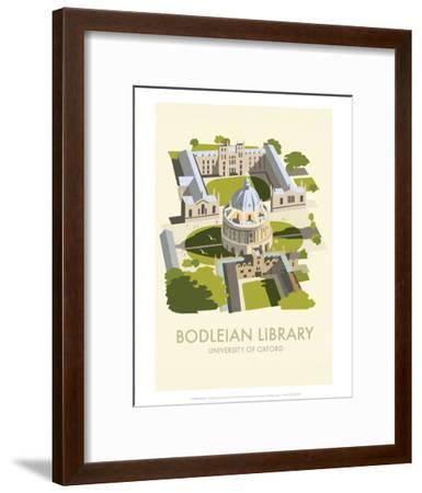 Bodelein Library Exterior - Dave Thompson Contemporary Travel Print-Dave Thompson-Framed Art Print