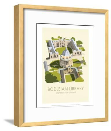 Bodelein Library Exterior - Dave Thompson Contemporary Travel Print-Dave Thompson-Framed Art Print