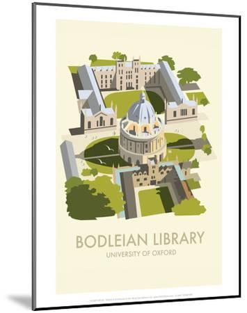 Bodelein Library Exterior - Dave Thompson Contemporary Travel Print-Dave Thompson-Mounted Art Print