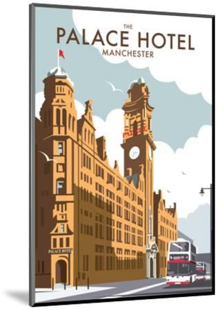 Manchester Palace Hotel - Dave Thompson Contemporary Travel Print-Dave Thompson-Mounted Art Print