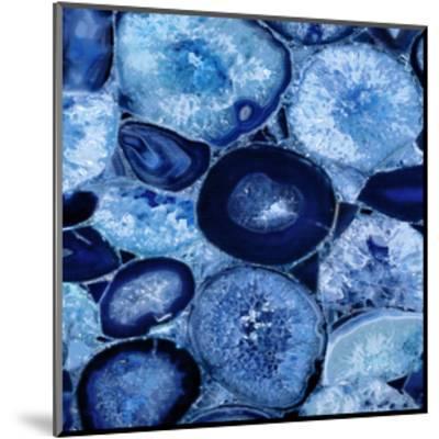 Agate in Blue I-Danielle Carson-Mounted Giclee Print