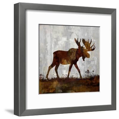 Moose-Carl Colburn-Framed Giclee Print
