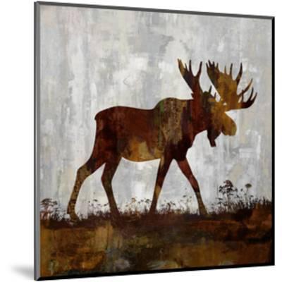 Moose-Carl Colburn-Mounted Giclee Print