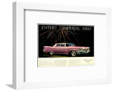 Chrysler Enter! Imperial 1960--Framed Art Print