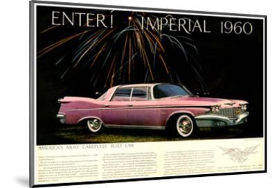Chrysler Enter! Imperial 1960--Mounted Art Print