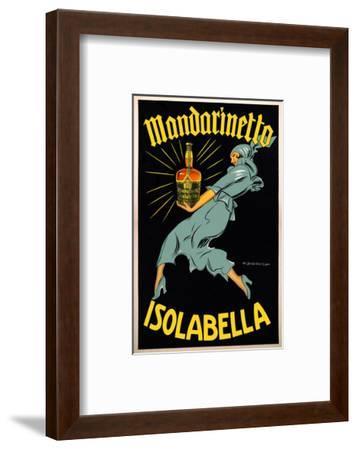 Dudovich-Mandarinetto Isolabella- Dudovich-Framed Art Print
