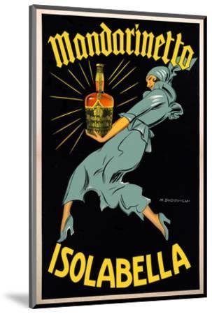 Dudovich-Mandarinetto Isolabella- Dudovich-Mounted Art Print