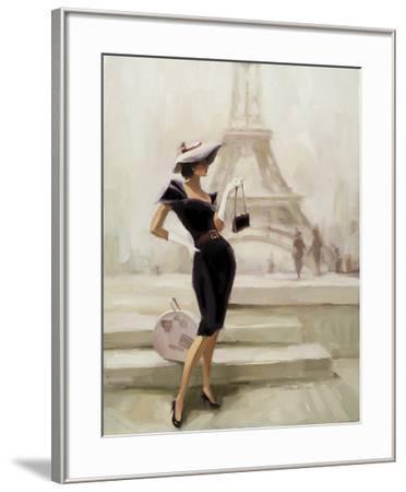 Love, From Paris-Steve Henderson-Framed Art Print