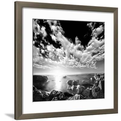 Ocean Seatide II--Framed Art Print