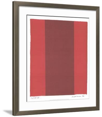 Canto XIV-Barnett Newman-Framed Collectable Print