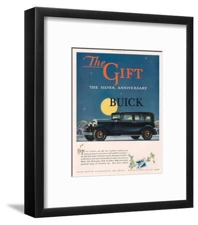 GM - Silver Anniversary Buick--Framed Art Print