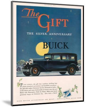 GM - Silver Anniversary Buick--Mounted Art Print