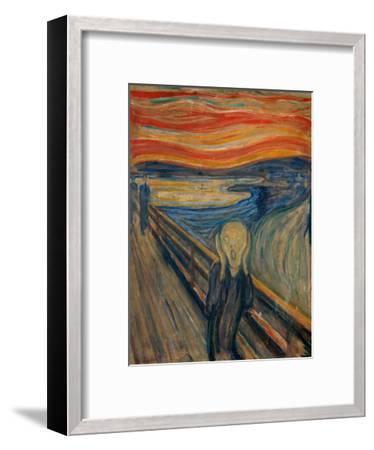The Scream, 1893-Edvard Munch-Framed Giclee Print
