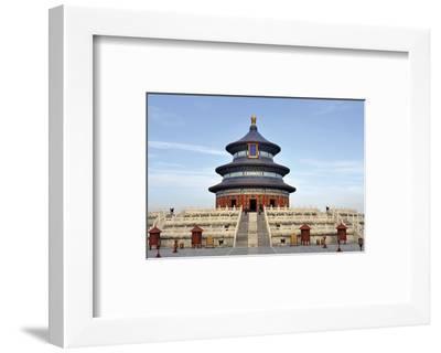 Imperial Heaven Vault Beijing--Framed Art Print