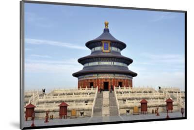 Imperial Heaven Vault Beijing--Mounted Art Print