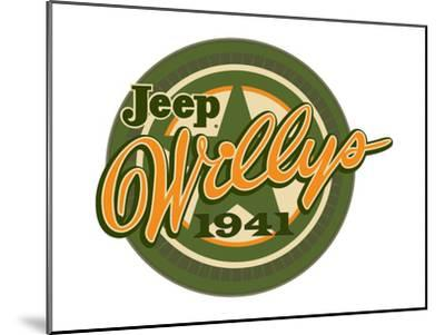 Jeep Willys 1941--Mounted Art Print