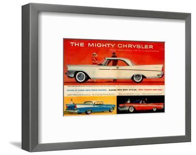 Mighty Chrysler Most Glamorous--Framed Art Print