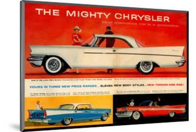 Mighty Chrysler Most Glamorous--Mounted Art Print