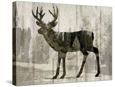 Camouflage Animals - Deer-Tania Bello-Stretched Canvas Print