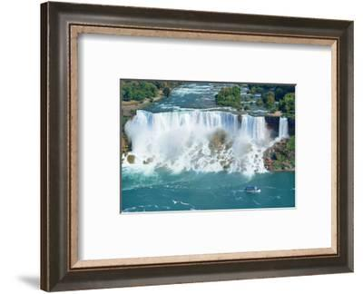 Niagara Falls Aerial Panorama--Framed Art Print