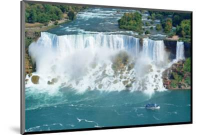 Niagara Falls Aerial Panorama--Mounted Art Print