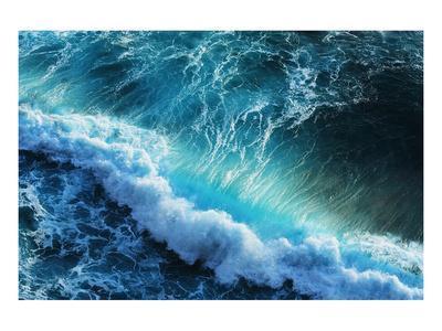 Ocean Wave Tube--Framed Art Print