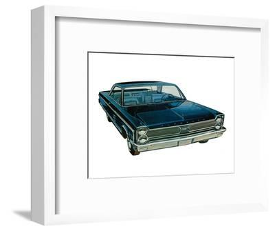 Plymouth - Fury Solo--Framed Art Print