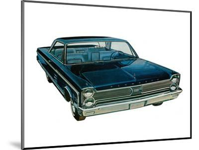 Plymouth - Fury Solo--Mounted Art Print
