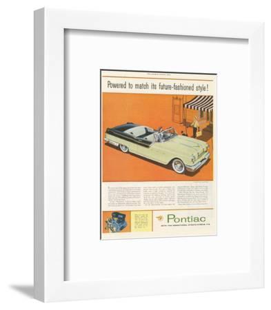 Pontiac-Future Fashioned Style--Framed Art Print