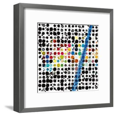 Drops-Vincent Oriol-Framed Art Print